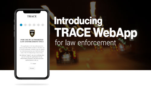 ABC Launches New Law Enforcement WebApp for the TRACE Program