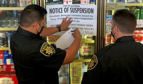 ABC Suspends the License of Quick-N-Shop Liquor in Fresno for 25 Days